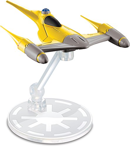 (Hot Wheels Star Wars Naboo Starfighter Vehicle)