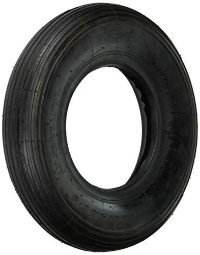Shepherd Hardware 3338 4.80/4.00x8-Inch Wheelbarrow Replacement Tire, 16-Inch, Ribbed Tread