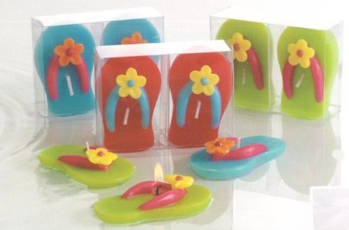 Escape Concepts Flower Flip Flop Floating Candles, -