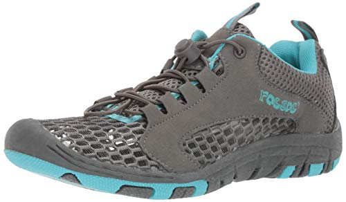 RocSoc: Water Shoes for Women, Aqua Shoes & Beach Shoes for Kayaking, Swimming, Surfing & Snorkeling, Must Have Scuba Gear for Water Sports, Aqua Size 10