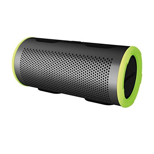 Braven Stryde 360 Degree Sound [2500 mAh] Waterproof Bluetooth Speaker - Silver / Green