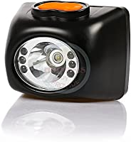 3W Cree KL4.5LM Led Cordless Headlamp,Safety Cap Lamp LI-ion Battery LCD Display for Camping,Mining,Hunting an
