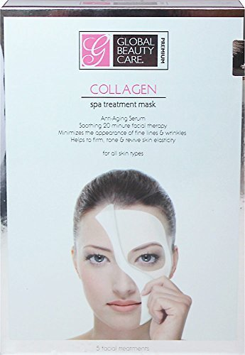 Global Beauty Care Collagen Spa Treatment Mask for All Skin Types 5pc by As We Change