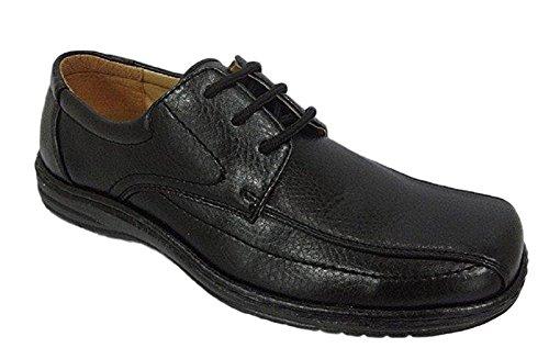 Avantage Porter Maximus Mens Robe Chaussures Panneau Avant Noir