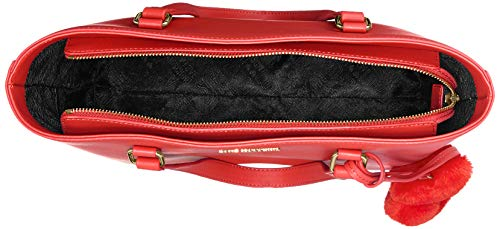 Bolsos rosso Rojo Mujer Borsa Totes Moschino Grain Pin Love Pu 8FzUwqnx