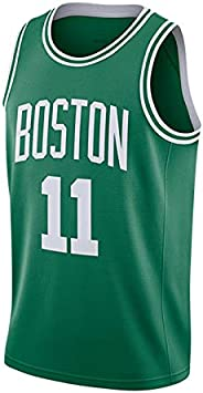 Sky Sports Kyrie Irving, Boston Celtics, Chaleco Transpirable de Secado rápido de Camiseta de Baloncesto de Hombre