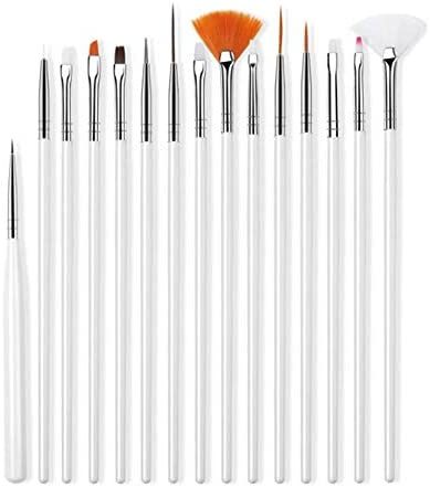 15pcs∕lot Clay Ceramic Pottery Plastilina Model Painting Eye Hook Line Pen Clay Doll Makeup Color Sweeping Brush Clay Tools