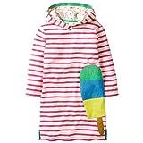 Tsyllyp Girls Dress Autumn Winter Striped Children's Sweater Hood
