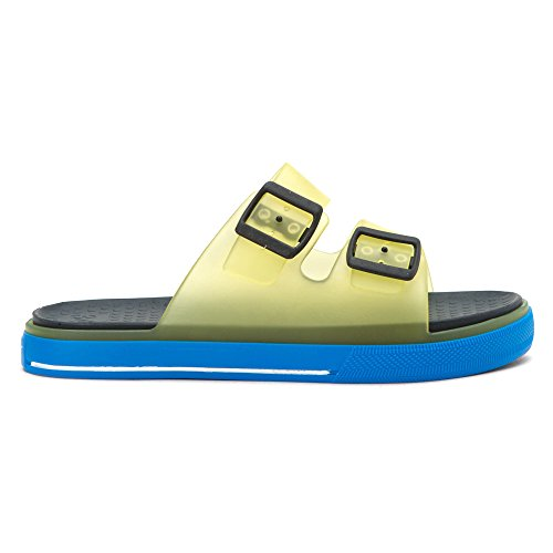 Yellow Maui Blue Kids' Igor Sandal fBwFfq