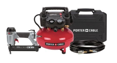 PORTER-CABLE CF6111 1-3/8-Inch Brad Nailer Compressor Combo