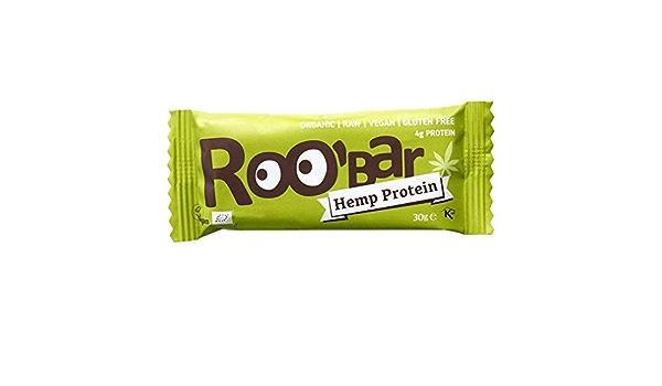 roobar – Barra Energética Bio & Vegan – cáñamo Proteína Chia ...