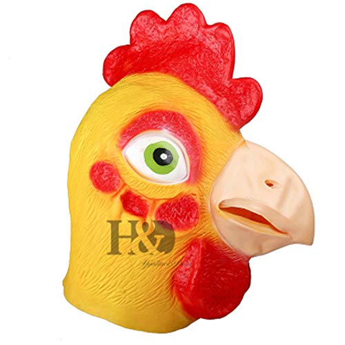 (Latex Animal Full Face Mask for Sale Breathable Halloween Carnival Party Cosplay Costume Lovely Animal Mask)