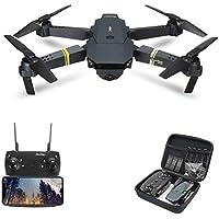 Zantec Drone pieghevole E58 / JY019 WIFI FPV con Videocamera HD Grandangolare Modalità Attesa Alta RC Quadricottero Drone RTF VS VISUO XS809HW JJRC H37 - 2 milioni di pixel grandangolare
