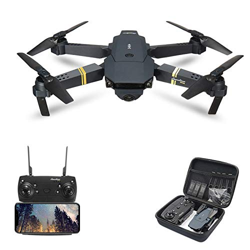 Studyset E58/JY019 WiFi FPV with Wide Angle HD Camera High Hold Mode Foldable Arm RC Quadcopter Drone RTF VS VISUO XS809HW JJRC H37 2 Million Pixels Wide Angle