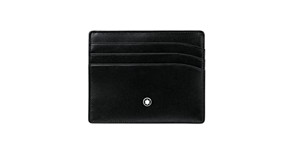Amazon.com: Montblanc Meisterstuck bolsillo 6 CC modelo ...