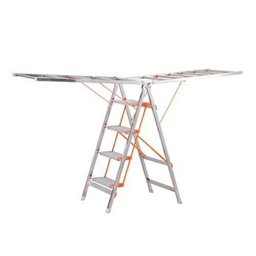 LyMei Clothes Drying Rack ladder Folding Laundry Dryer Hange