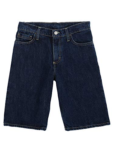 - Wrangler Authentics Big Boys' Five Pocket Short, dark rinse, 8H