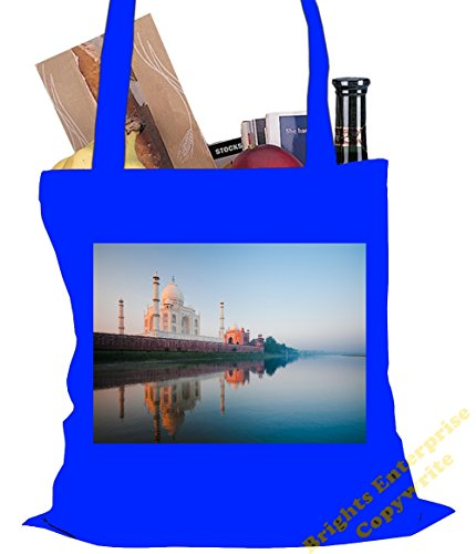 An original photo 10 Gym our litres Size Tote unique reuseable Shopping Beach of Christmas or image Taj x from Mahal an 42 cm Birthday 78 range with f Blue idea Bag gift bag 38 tote stocking filler wF8qRTpF
