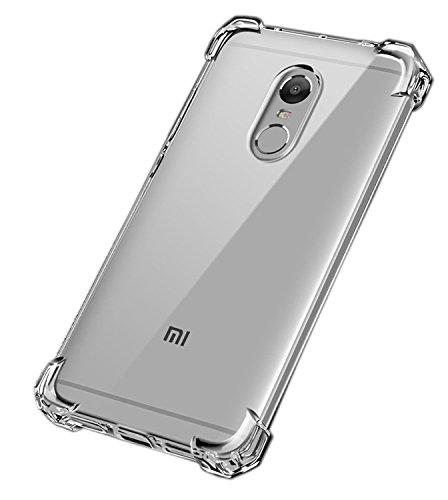 Caresale Back Cover for redmi mi Note 4  Transparent