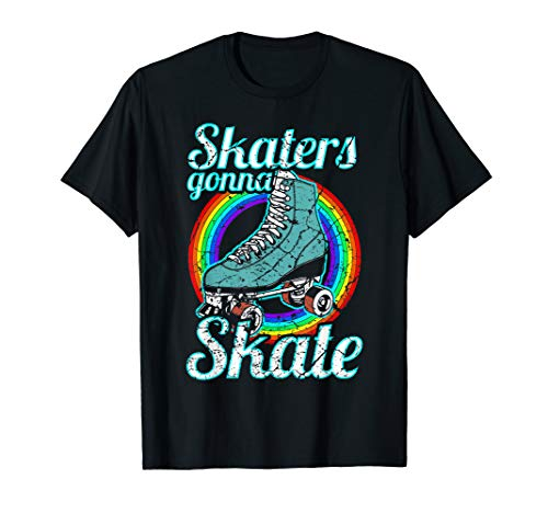 Retro Skaters Gonna Skate Roller Skate Gift T-Shirt