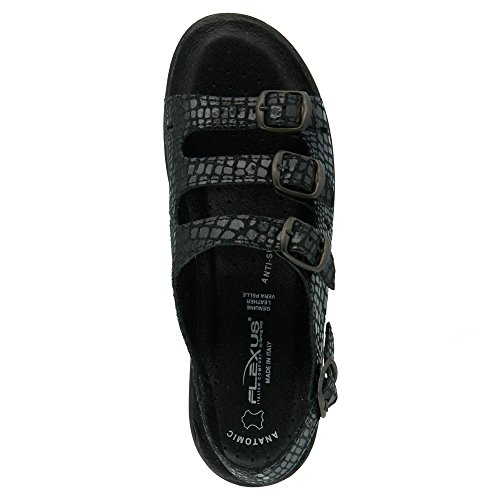 41 Black EU Women's Sandals 9 5 Flexus 10 M Adriana M EqYIfwwH