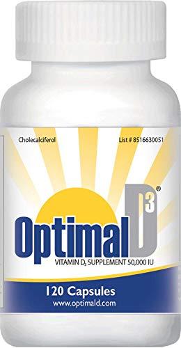 Optimal D3 50,000 IU - 120 Capsules