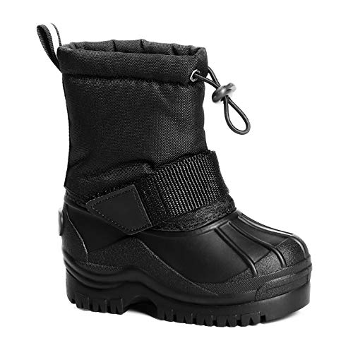 Trary Boys Snow Boots Insulated Waterproof Winter Boot(Toddler//Little Kid)