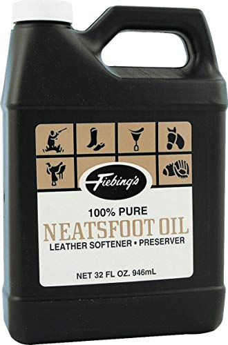 Uses Neatsfoot Oil - Fiebings Pure Neatsfoot Oil 32 oz