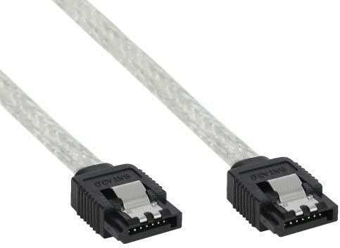 / Clear 0.5/ M SATA Cable Inline 27305r SATA Cable/