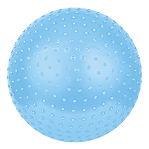 Spokey® SAGGIO Fit Gymnastikball mit Massagenoppen Sitzball Fitnessball...