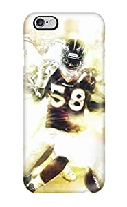 New Tpu Hard Case Premium Iphone 6 Plus Skin Case Cover(von Miller)
