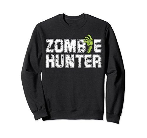 Halloween Zombie Vampire Hunter Costume Sweatshirt