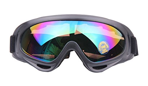 Minidot Mirrored Reflection Sports Glasses Ski Goggles - Cross Country Skiing - Mountain Climbing - Cycling Sunglasses - Cross Sunglasses Country