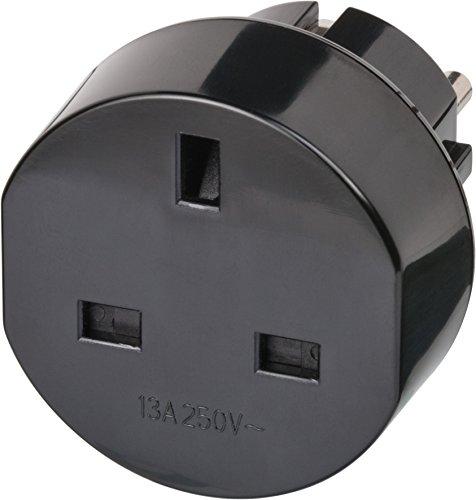 Brennenstuhl 1508530 reisstekker / reisadapter (reisstekkeradapter voor: Euro stopcontact en Engeland stekker) kleur…