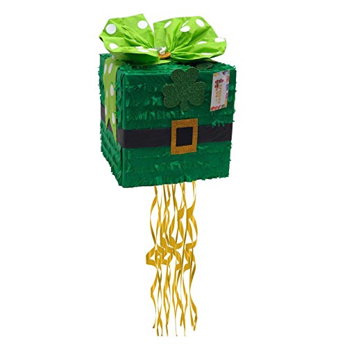 St. Patrick's Day Gift Box Pinata Little Lass Little Lad Themed
