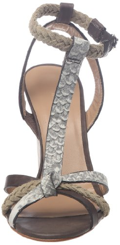 Tatoosh - Sandalias de cuero para mujer Beige