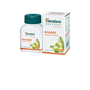 bottle containing amalki immunity tablets manufactured by himalaya