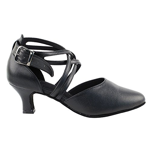 Art Salsa Shoes Vegan by Ballroom Party Mid Gold Of Dress Latin 50 S9110 Tango Party Women Theather Shades Dance Swing Collection Practice Available Black Vegan Shoes Pigeon Heel TxqB5q1w