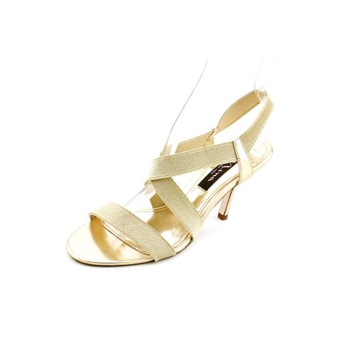 Nina Valonia Women Canvas Sandals Platino hStMfO