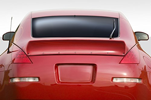 - Duraflex Replacement for 2003-2008 Nissan 350Z Z33 2DR Coupe RBS Rear Wing Spoiler - 1 Piece