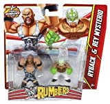 Wwe Rumblers Ryback And Rey Mysterio Action Figure, 2 Pack