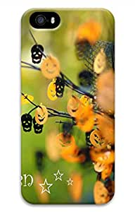 Happy Halloween 8 Cover Case Skin for iPhone 5 5S Hard PC 3D