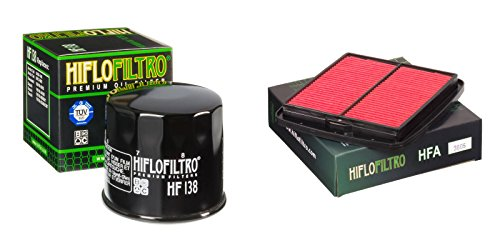 Oil and Air Filter Kit for SUZUKI GSF600 ST,SV,SW,SX Bandit 96-99 HIFLO FILTRO