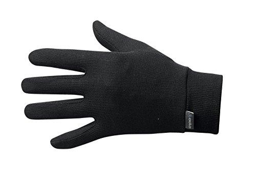 Odlo Herren Gloves Warm, Black, M, 10640