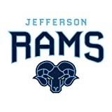Philadelphia Medium Decal 'Jefferson Rams'