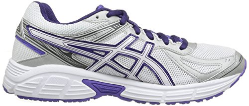 Asics Gel Patriot 7 - Zapatillas de running para mujer, color Wht/P.Wht/Purp Wht/P.Wht/Purp