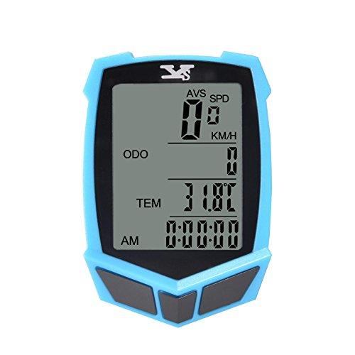 MATATA Wireless Bike Computer Bicycle Speedometer Multi F...
