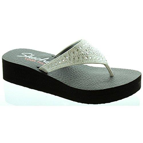 38494 Diamante Toe Post Sandals
