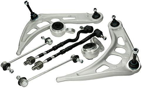 Kit de Brazo de Control de Espoleta Delantera de Acero al Carbono para 3 series E46 32111096897 Zerone Brazo de Control de Autom/óvil