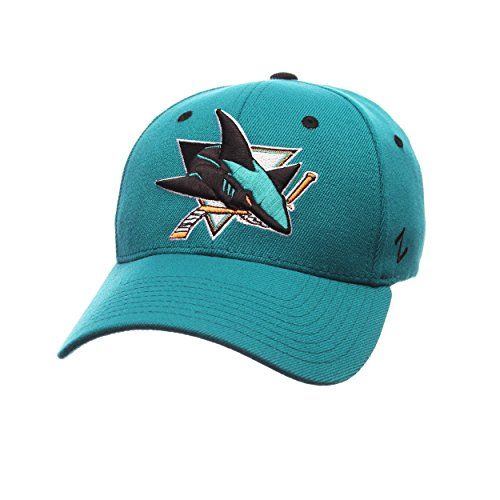 NHL San Jose Sharks Men's Breakaway Cap, X-Large, Teal (San Jose Hats)